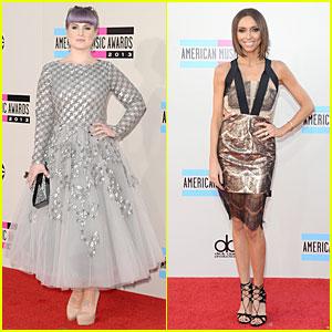 Kelly Osbourne & Giuliana Rancic - AMAs 2013 Red Carpet