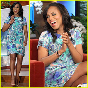 Kerry Washington Talks Magazine Covers on 'Ellen'!