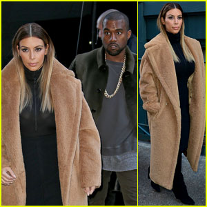 Kim Kardashian & Kanye West: NYC Movie Date!