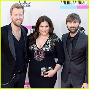 Lady Antebellum - AMAs 2013 Red Carpet