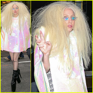 Lady Gaga Warns Fans Against Her Pee Perfume!