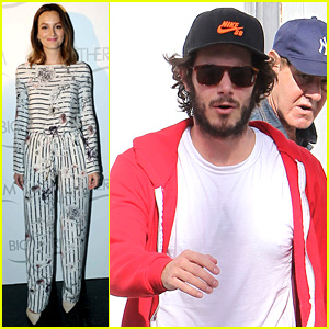 Leighton Meester & Adam Brody Step Out After Engagement!