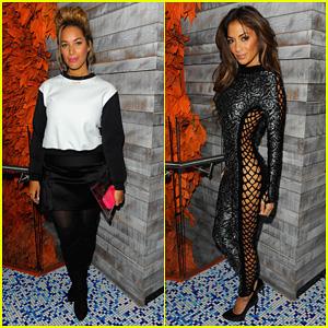 Leona Lewis & Nicole Scherzinger: Sushi Samba Anniversary Party!