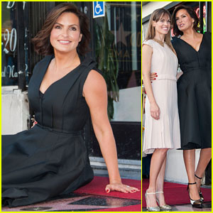 Mariska Hargitay: Hollywood Walk of Fame Star!