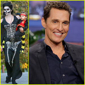 Matthew McConaughey Spends Halloween with Jay Leno!