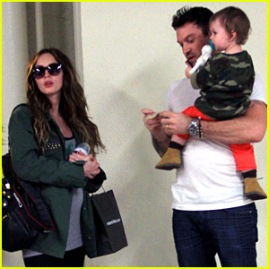 Pregnant Megan Fox: Checkup with Brian Austin Green & Noah!