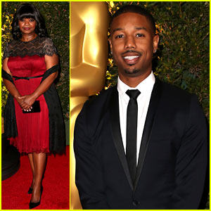 Michael B. Jordan & Octavia Spencer - Governors Awards 2013