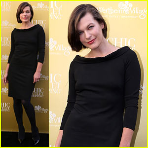 Milla Jovovich: Wertheim Village 10th Anniversary Celebration!