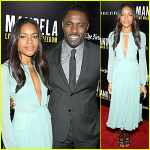 Naomie Harris & Idris Elba: 'Mandela' NYC Screening!