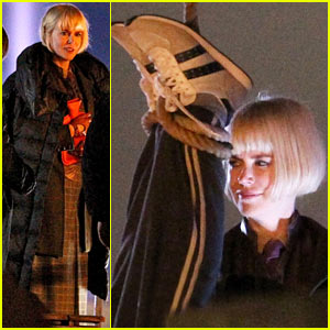Nicole Kidman Wears Bob for 'Paddington', Films with Hanging Man!