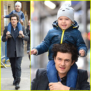 Orlando Bloom Bonds with Flynn After 'Romeo & Juliet' Closing News