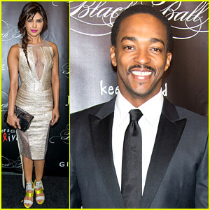 Priyanka Chopra & Anthony Mackie: Keep a Child Alive Black Ball