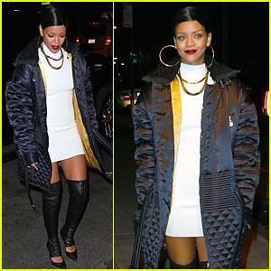 Rihanna: Pre-Thanksgiving 'Finale' Party!