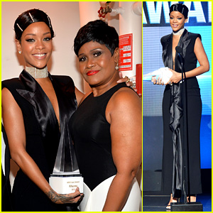 Rihanna Performs 'Diamonds,' Wins Icon Award at AMAs 2013!