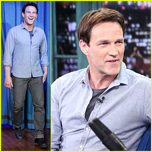 Stephen Moyer: 'Sound of Music' Promo on 'Fallon'!