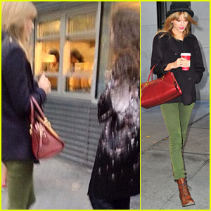 Taylor Swift & Lorde Grab Lunch Together in New York City!
