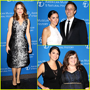 Tina Fey & 'SNL' Cast: Musuem of Natural History Gala 2013!
