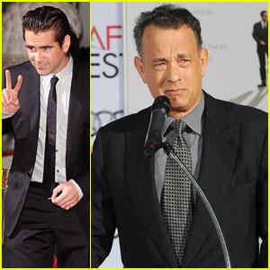Tom Hanks & Colin Farrell Help Honor Emma Thompson at AFI Fest 2013