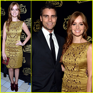 Ahna O'Reilly & Colin Egglesfield: Stella Artois Launch Event!