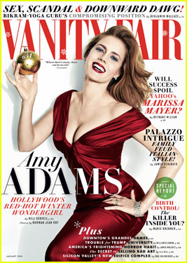 Amy Adams Covers 'Vanity Fair' Magazine Janaury 2014