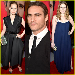 Amy Adams & Joaquin Phoenix: 'Her' Los Angeles Premiere!