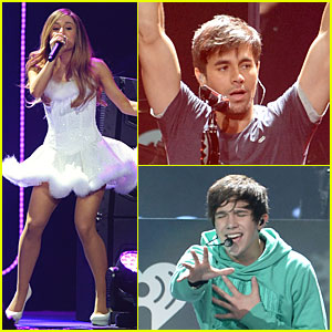 Ariana Grande & Enrique Iglesias: 102.7 KIIS-FM's Jingle Ball!