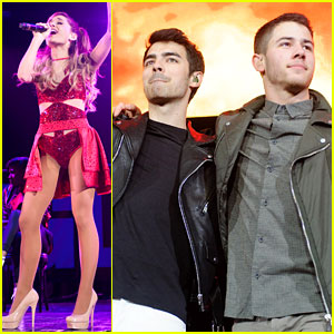 Ariana Grande & Jonas Brothers: B96 Pepsi Jingle Bash!