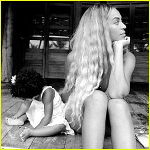 Beyonce Shares Cute Pic of Herself with Blue Ivy on Tumblr!