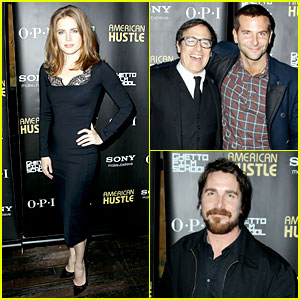Bradley Cooper & Amy Adams: 'American Hustle' Screening!