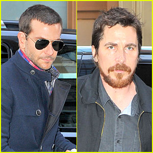 Bradley Cooper & Christian Bale: 'American Hustle' Promoters!