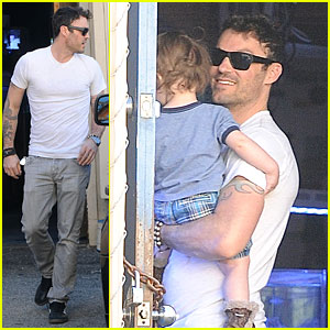 Brian Austin Green Steps Out with 15-Month-Old Son Noah!