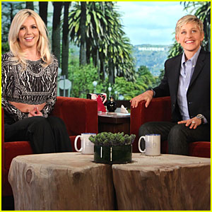 Britney Spears Professes Love for David Lucado on 'Ellen'!
