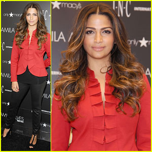 Camila Alves: INC Macy's Presentation on Long Island