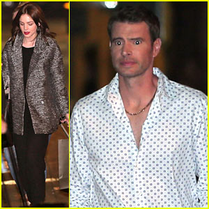 Carey Mulligan & Scott Foley: 'Jimmy Kimmel Live' Guests!