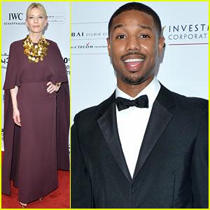 Cate Blanchett & Michael B. Jordan: Dubai Film Festival Opening Night Gala!