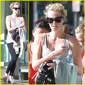 Charlize Theron: Workout After Nelson Mandela's Memorial