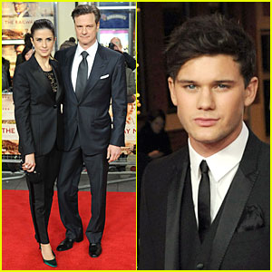 Colin Firth & Jeremy Irvine: 'Railway Man' London Premiere!