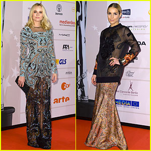 Diane Kruger & Noomi Rapace: European Film Awards!