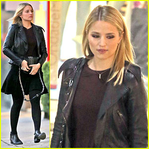 Dianna Agron: Fun Shoot Marks Beginning of Holiday Break!