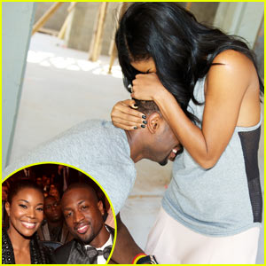 Dwyane Wade Proposes to Gabrielle Union - See the Photo!