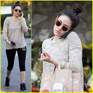 Emmy Rossum: Lazy Catch Up Day with Justin Chatwin!
