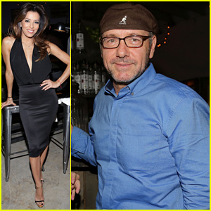 Eva Longoria & Kevin Spacey: Moments In Motion Exhibit!