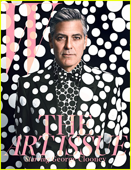 George Clooney Covers 'W' Magazine's Art Issue