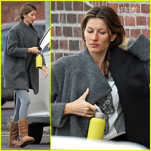 Gisele Bundchen: Workout After Pantene Announcement!