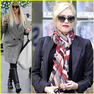Gwen Stefani & Gavin Rossdale Run Errands Before Holiday Week
