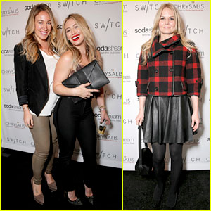 Hilary Duff & Jennifer Morrison: Switch Boutique Holiday Party!