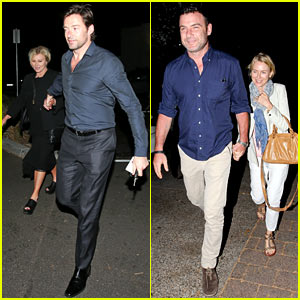 Naomi Watts, Hugh Jackman & Their Spouses Dine Together in Sydney!