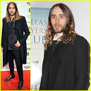 Jared Leto: Gotham Independent Film Awards!