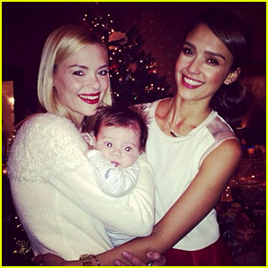 Jessica Alba & Jaime King: Christmas Day with Baby James Knight!