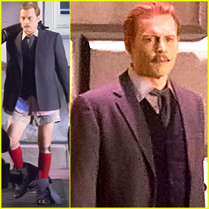 Johnny Depp's Pants Fall to the Ground on 'Mortdecai' Set (Pics)